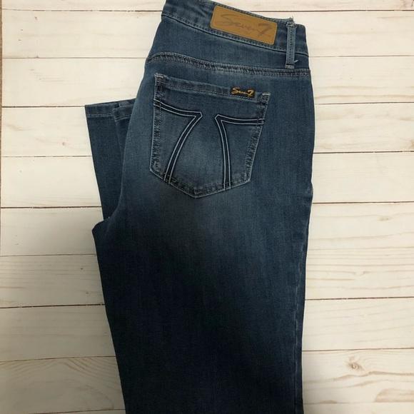 Seven7 Denim - {Seven7} Dark Skinny Jeans